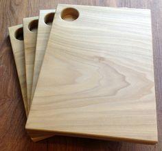 Poplar Cutting Board or Serving Board