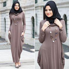 NAYLA COLLECTION - DRESS - 3028KH #hijab #naylavip #hijabi #hijabfashion #hijabstyle #hijabpress #muslimabaya #islamiccoat #scarf #fashion #turkishdress #clothing #eveningdresses #dailydresses #tunic #vest #skirt #hijabtrends