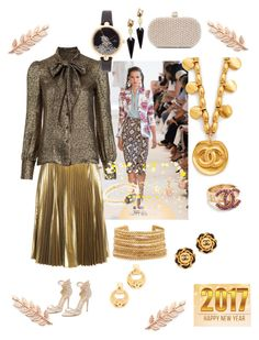 """Enchanting Life!"" by lalu-papa on Polyvore featuring Altuzarra, A.L.C., Yves Saint Laurent, Kate Spade, Alexis Bittar, Santi, Marchesa, Ringly, Avigail Adam and Elizabeth Cole"