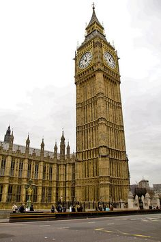 Big Ben...with LeeBee and TaMan