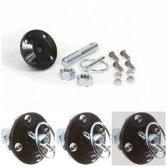 Daystar Single Universal Hood Pin Kit w// Polyurethane Isolator fits 2//4WD Black