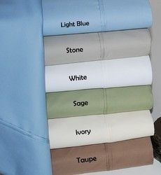 BLOWOUT SALE!! - 600TC Egyptian Cotton Sheet Set Color: Taupe Size: Full