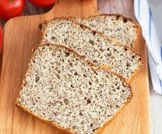 Low Carb Keto, Low Carb Recipes, Healthy Recipes, Pain Keto, Banana Bread, Paleo, Lose Weight, Fitness, Food And Drink