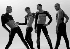 kazaky = Boys in High Heels and Makeup, dancing like girls. If you're into that, chekc out the link. lol