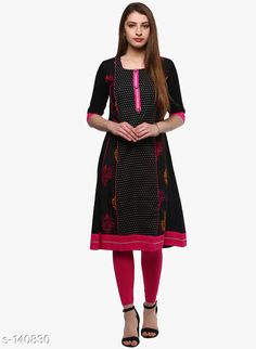 Kurtis & Kurtas Divena Women's Trendy Casual Kurti Fabric: Cotton Sleeves: Sleeves Are Included Size : XS,S,M,L,XL,XXL,3XL,4XL,5XL,6XL,7XL (Refer Size Chart) Type: Stitched Description: It Has 1 Piece Of Kurti Work: Printed Sizes Available: XS, S, M, L, XL, XXL, XXXL, 4XL, 5XL, 6XL, 7XL *Proof of Safe Delivery! Click to know on Safety Standards of Delivery Partners- https://ltl.sh/y_nZrAV3  Catalog Rating: ★4.4 (659)  Catalog Name: Divena Women's Trendy Casual Kurtis CatalogID_13917 C74-SC1001 Code: 636-140830-