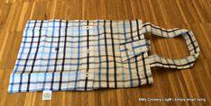 DIY-Tutorial I Upcycling von Hemden zur 3in1- Handtaschen-Tasche I - My Cookery Log®