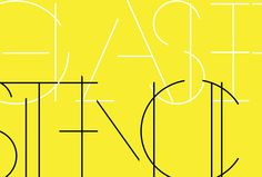 La Glaser Stencil, p