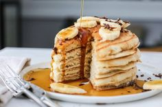 5 Minute Vegan Pancakes | Genius Kitchen