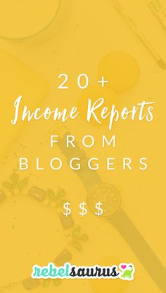 It's always inspiring to read income reports from bloggers, whether they're just starting out and charting their entire blogging journey or they've been blogging for years and are making multi-six-figures or even seven figures a year. Here are over 20 inspirational income reports from bloggers making at least $1,000 a month, and some making over $100,000 in a single MONTH.