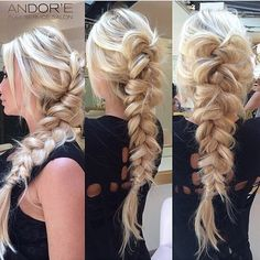 5. Twisted, Turned and Teased  Photo courtesy of Andor'e Salon  Braids have been a runway staple for years, so it comes as no surprise that  they are one of our fall obsessions. Whether its a classic, fishtail,  rumpled or waterfall, there are so many creative and beautiful ways to ...