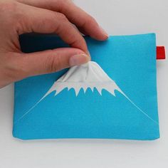 Mount Fuji Tissue Holder | Creative Product Packaging Design Sample for inspiration.