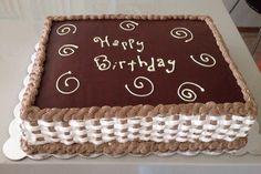 Chocolate whipped cream ganache cake