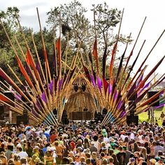 Bamboo Stage @ Lightning in a Bottle Festival