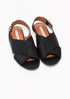 & Other Stories | Cross Strap Sandals
