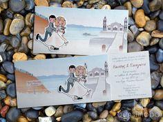 Προσκλητήριο με σχέδια, QUASIMODO, στο www.GamosPortal.gr  #weddinginvitations #weddings #invitations #weddingideas #gamosportal Wedding Invitations, Age, Cover, Books, Libros, Book, Wedding Invitation Cards, Book Illustrations, Wedding Invitation