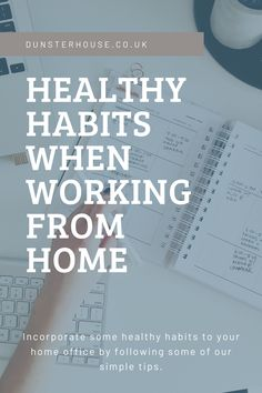 Not keen on the idea of turning your home into your office and living space? It can be quite daunting and many of us may adapt where others may not. Introducing some of these healthy habits can better improve and support working from home productivity by: Creating a structured routine Keeping all your work in one area Communicating Organising and scheduling tasks