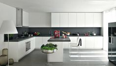 Choosing kitchen themes you love will enhance your love for cooking. Here are some ideas of kitchen themes for your house. Grey Kitchen Designs, Modern Kitchen Design, Interior Design Kitchen, Smart Kitchen, New Kitchen, Kitchen Themes, Kitchen Decor, Kitchen Ideas, L Shaped Kitchen