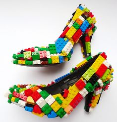 Lego shoes. Crazy cool!