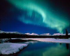 paisajes del polo norte de noche - Buscar con Google