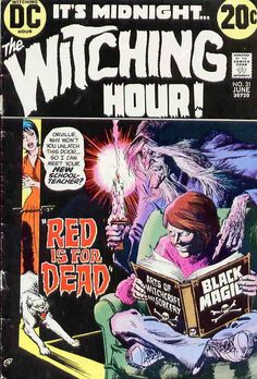 nick cardy horror cover