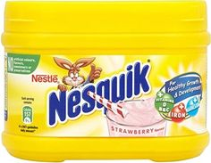 Nestle Nesquik Strawberry 300g  Pack of 6 *** More info could be found at the image url.(This is an Amazon affiliate link and I receive a commission for the sales)