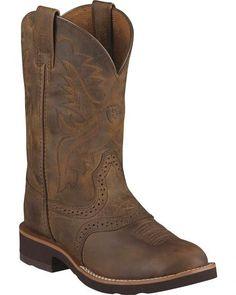 Ariat Children's Heritage Crepe Cowboy Boots