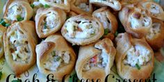 Crab & cheese filled crescent rolls  Foodies network