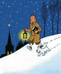 Tintin (Noël) — Hergé