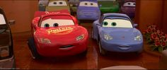 Lightning was such an adorable cutie pie in Cars 2 Pixar Movies, Disney Movies, Disney Characters, Cars 2006, Tow Mater, Car Memes, Weird Cars, Disney Pixar Cars, Lightning Mcqueen