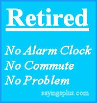 Quote: Advantage of being retired :D http://top10thebest.com/top-10-retirement-gift-ideas-for-women/