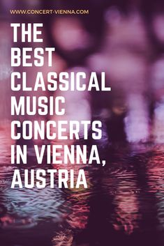 Attending a classical music concert is one of the things to do in Vienna, Austria that you absolutely have to try! Tap this pin to reveal the best classical music concerts in Vienna, Austria and get ready for a life-changing experience. Travel Around Europe, Places In Europe, Places To Travel, Travel Destinations, Best Classical Music, Classical Music Concerts, Amazing Places, Beautiful Places, Stuff To Do