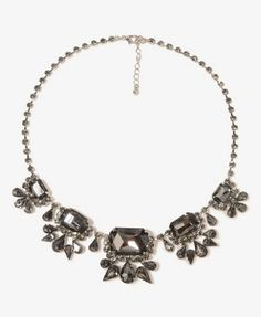 Bejeweled Chain Necklace   FOREVER 21 - 1030186852