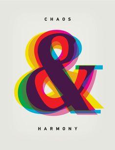 """Chaos & Harmony"" by Andrey Sharonov on INPRNT #LogoCore"