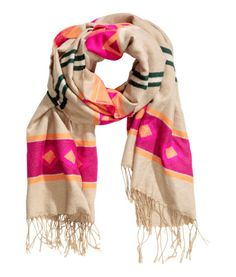 Jacquard-weave Scarf | Product Detail | H&M