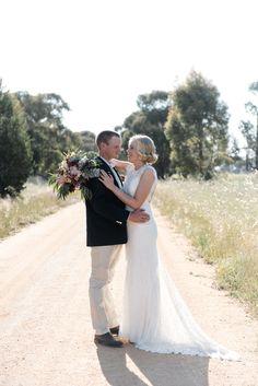 Relaxed Toorannie Farm Wedding - Polka Dot Bride | Photo by http://georgiejames.com.au/
