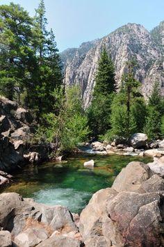 Parque Nacional Kings Canyon Califórnia