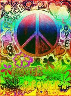 PEACE, LOVE & FLOWER POWER