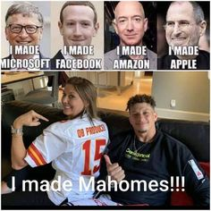 Nfl Jokes, Football Jokes, Nfl Football Players, Kansas City Nfl, Kansas City Chiefs Football, Chiefs Memes, Kc Cheifs, Cute Mixed Babies, Nba Pictures