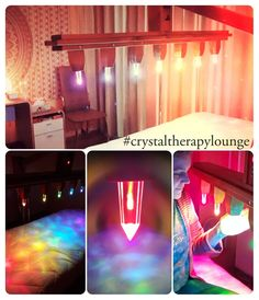 #crystaltherapylounge Lava Lamp, Table Lamp, Crystals, Lighting, Bed, Home Decor, Table Lamps, Decoration Home, Stream Bed