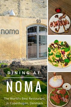 A once-in-a-lifetime meal at 'the best restaurant in the world,' Noma, in Copenhagen, Denmark.