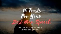 """Delivering a perfect best man wedding speech is a challenging responsibility for many men. While developing such a Best Man's Speech, one of the main dilemmas many """"Best Men"""" face is to decide on whether to crack everyone up or to kee Best Man Wedding Speeches, Best Speeches, Best Man Speech Examples, Great One Liners, One Liner Jokes, Wedding Toast Samples, Groom's Speech, Maid Of Honor Speech, Wedding Toasts"""