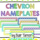 Here are some cute chevron nameplates to bring some color and fun into your classroom! Get ready to welcome your kiddos back to school with these b...