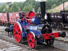 "Aveling and Porter 2-2-0WT 'TJ' class railway traction engine No. 9449 ""The Blue Circle"""