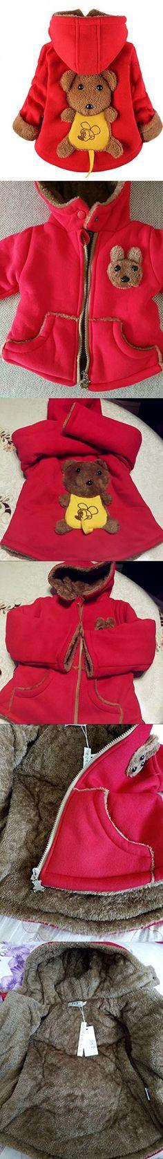 dbb67c7cd Coper Fashion Baby Girls Boys Winter Hoodie Down Jacket Warm Coat ...