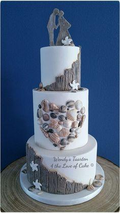 A fresh new look for beach weddings.