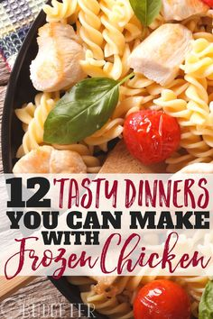 Ok I'll just say it-- frozen chicken is the best. Balancing two kids, a husband, work, and life in general- I need quick and easy dinner solutions. These tasty frozen chicken dinner recipes are the staples in our house- our kids always want seconds! Grilled Chicken Strips, Chicken Strip Recipes, Frozen Chicken Recipes, Pre Cooked Chicken, Cooked Chicken Recipes, How To Cook Chicken, Crockpot Frozen Chicken, Super Easy Dinner, Quick Dinner Recipes