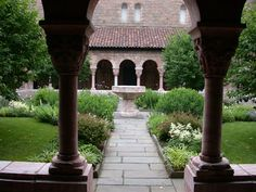 The Cloisters in the Bronx, New York, a part of the Metropolitan Museum