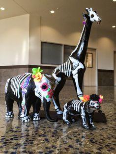 smART Class: Dia De Los Muertos Animals... LOVE this idea! Culture, Art…