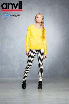 Buy Anvil 399 Ladies Ringspun T-Shirt - $5.71 at spazeapparel.com  Size: XS, S, M, L, XL, 2XL  #ladiestshirts #ladiesringspuntshirts #tshirts