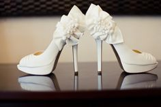 How great are these detailed white heels?? #welove  Forever Amour Bridal www.foreveramourbridal.com www.facebook.com/foreveramourbridal New York, New York 10022 (212) 486-2900 stylist@foreveramourbridal.com